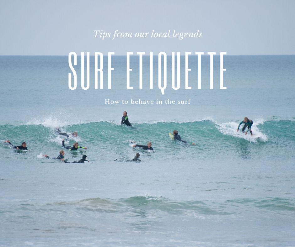 Surf Etiquette Cover Shot